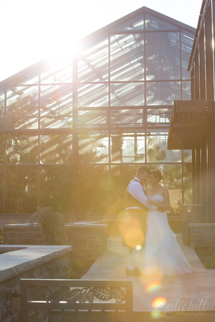 7-Calgary-Alberta-Zoo-Butterfly-Garden-Sunset-flare-Julie-Hill-Photography-Wedding-formal-photo01