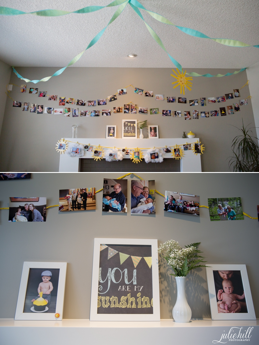 You-are-my-sunshine-photo-collage-decor-theme-cake-smash-photographer-julie-hill-photography-photo